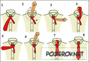 Как завязать галстук [ Часть 2 ]