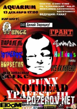 PUNX NOT DEAD YPAFEST III