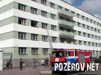 Пожар в общежитии БНТУ №6