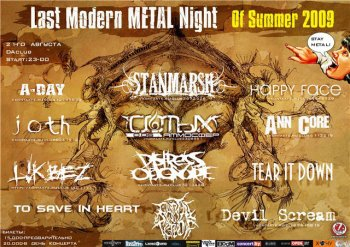 Last Modern Metal Night Of Summer 2009