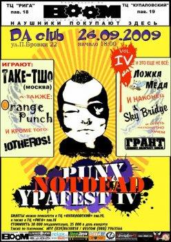 PUNX NOT DEAD YPA FEST  IV
