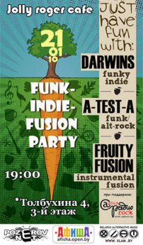 Funk-Indie-Fusion Party