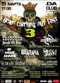 Brain Carrying Out Fest 3