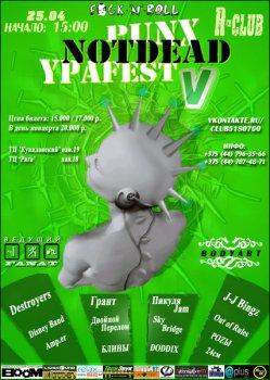 Punx Not Dead Ypa Fest V