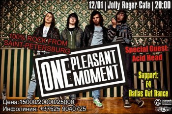 One Pleasant Moment в Jolly Roger Cafe
