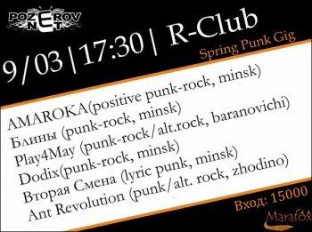 Spring Punk Gig