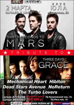 Tribute to 30 STM & Three Days Grace