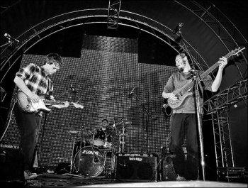 Karavan в преддверии концерта в Граффити
