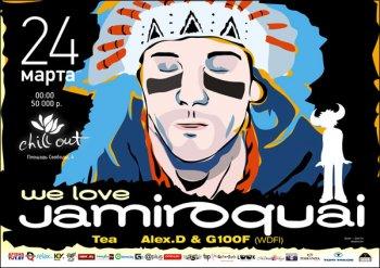 We love Jamiroquai
