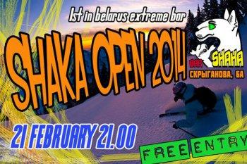 Shaka Open Bar
