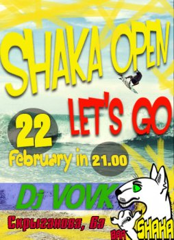 Shaka Open Bar: Let's Go