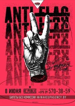 Anti-Flag в Минске