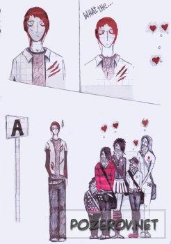 Комикс про злобного эмо-Billy. [ 1-2 ]