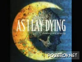 As i lay dying - Confined [ Клип-караоке ]