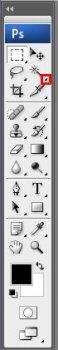 Интерфейс Adobe Photoshop CS3 - Панель инструментов [ Фотошоп ]